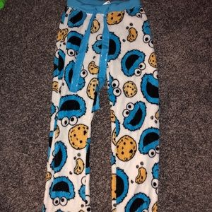 Other - Adorable Cookie Monster pj pants! Size small!
